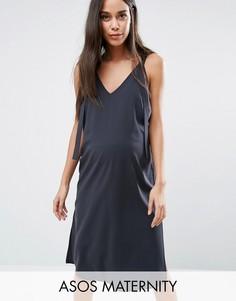 Платье для беременных ASOS Maternity - Серый