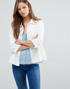 Рубашка с рукавами 3/4 b.Young - Белый