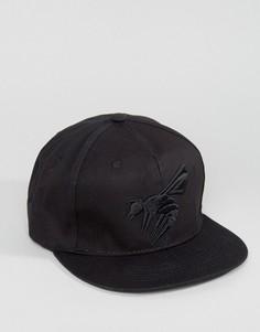 Бейсболка с логотипом-осой Abuze London - Черный