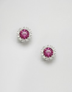Серьги с кристаллами Swarovski Krystal Rosetta - Розовый