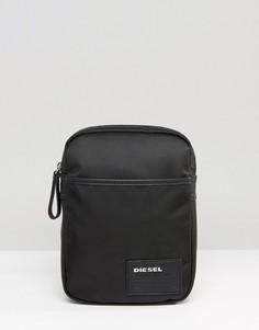 Черная сумка для авиаперелетов Diesel Fuzzy - Черный