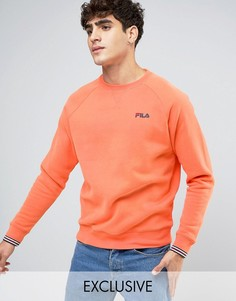 Свитшот с логотипом Fila Vintage - Оранжевый