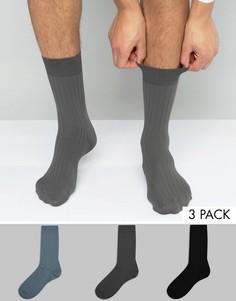 Набор из 3 пар носков ASOS - Мульти