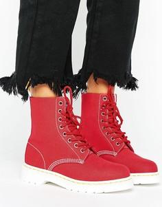 Парусиновые ботинки Dr Martens - Красный