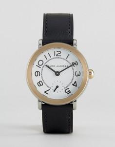 Часы с кожаным ремешком Marc Jacobs - Черный