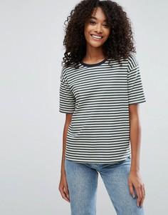 Свободная футболка в полоску ASOS - Мульти