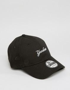 Регулируемая кепка New Era 9Forty NY Yankees - Черный