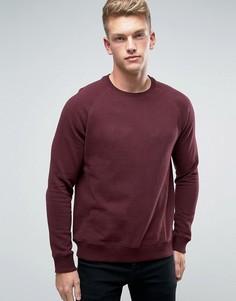 Бордовый свитшот Burton Menswear - Красный