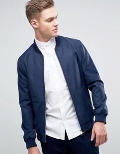 Темно-синяя куртка-пилот Burton Menswear - Темно-синий
