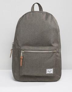 Рюкзак решетчатой текстуры Herschel Supply Co Settlement - Серый