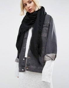 Легкий oversize-шарф ASOS - Черный