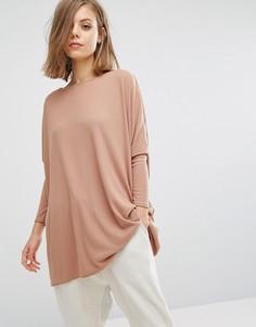 Oversize-футболка Daisy Street - Бежевый