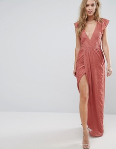 Платье макси The Jetset Diaries Getaway - Розовый