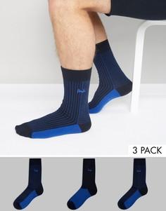 3 пары синих носков Pringle - Синий