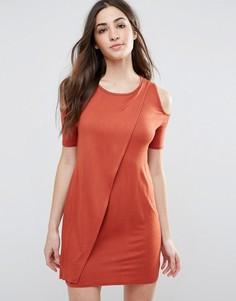 Платье с вырезами на плечах Daisy Street - Оранжевый