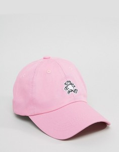 Бейсболка с вышивкой Cheats and Thieves - Розовый