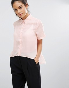 Рубашка с короткими рукавами Daisy Street - Кремовый