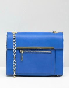 Синяя сумка через плечо Nali - Синий