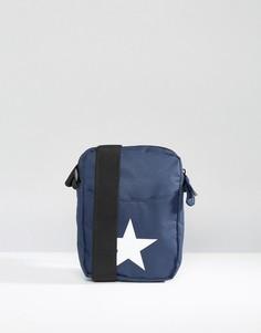 Темно-синяя классическая сумка со звездой для авиаперелетов Mi‑Pac - Темно-синий