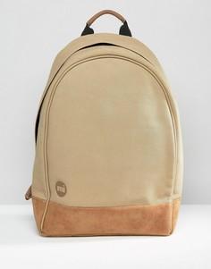 Парусиновый рюкзак песочного цвета Mi-Pac XL - Бежевый