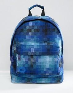 Синий рюкзак с пиксельным принтом Mi-Pac - Синий