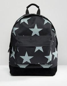 Черный рюкзак размера XL с принтом звезд Mi-Pac - Черный