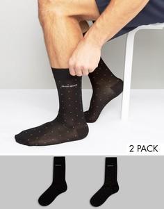 2 пары подарочных носков BOSS By Hugo Boss - Черный