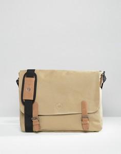 Парусиновый портфель бежевого цвета Mi-Pac - Stone