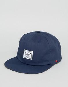 Темно-синяя кепка Herschel Supply Co Albert - Темно-синий