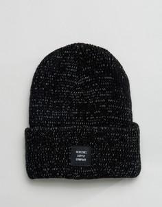 Светоотражающая шапка-бини Herschel Supply Co Abbott - Черный