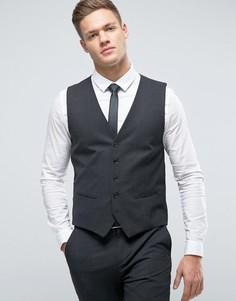 Суперзауженный жилет Selected Homme - Серый