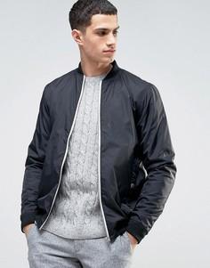 Черная куртка-пилот Solid - Черный