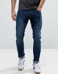 Эластичные узкие джинсы Solid - Черный