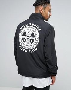 Ветровка с принтом на спине Billionaire Boys Club - Черный