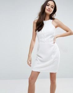 Облегающее платье Adelyn Rae - Белый