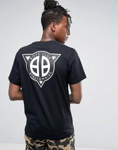 Футболка с логотипом на спине Billionaire Boys Club - Черный