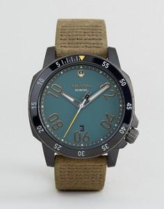 Часы с кожаным ремешком Nixon X Star Wars Cassian Ranger - Коричневый