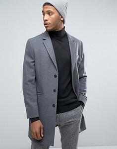 Шерстяное пальто Kiomi - Серый