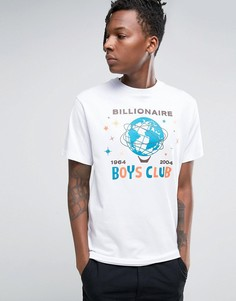 Футболка с принтом Billion Dollar Billionaire Boys Club - Белый