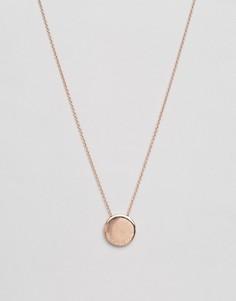 Ожерелье с подвеской-диском Olivia Burton - Золотой