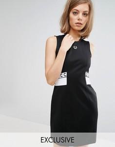 Платье Fred Perry Archive Trico - Черный