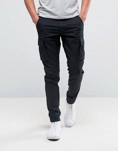Суперузкие брюки-карго Only & Sons - Черный