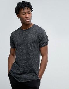 Длинная футболка Only & Sons - Черный