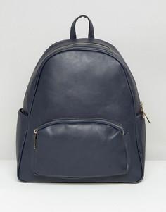 Рюкзак с карманом на молнии спереди Yoki - Синий
