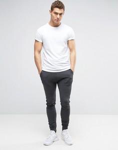 Суперузкие джоггеры и футболка с закатанными рукавами (набор из 2 шт.) ASOS - СКИДКА - Мульти