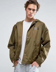Спортивная куртка с капюшоном Brixton Maverick - Зеленый
