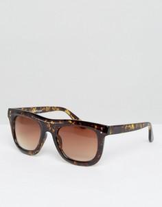 Квадратные солнцезащитные очки AJ Morgan - Коричневый
