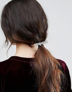 Заколка для волос с камнями ASOS - Прозрачный