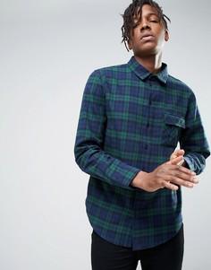 Зеленая рубашка в клетку Another Influence - Зеленый