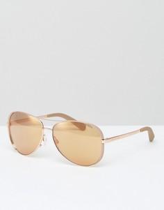 Солнцезащитные очки‑авиаторы Michael Kors - Золотой